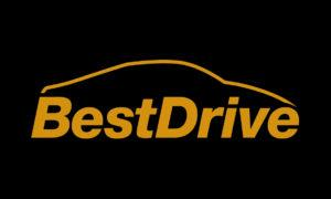 BestDrive Logo yellow on black 300x180